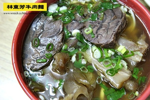 【食記:台北】林東芳牛肉麵!半筋半肉好滋味
